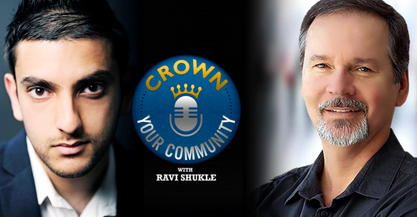 CYC 2 : Ravi Shukle Interviews Hugh Briss Founder of Social Identities on The Crown Your Community Show