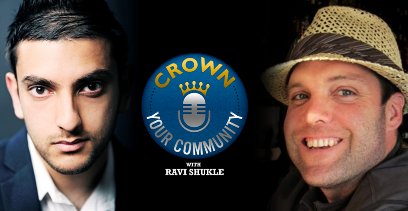 CYC 3 : Ravi Shukle Interviews Joshua Parkinson Founder of Post Planner on The Crown Your Community Show