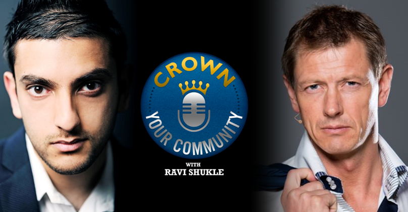 CYC 8 : Ravi Shukle Interviews Peter Sage of PeterSage.com on The Crown Your Community Show